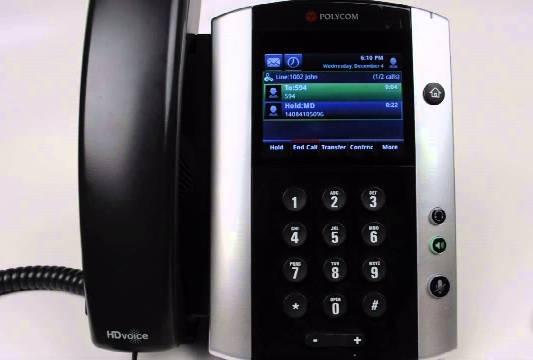 Polycom 500 600 IP Phone