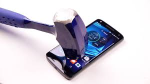 smashing phone